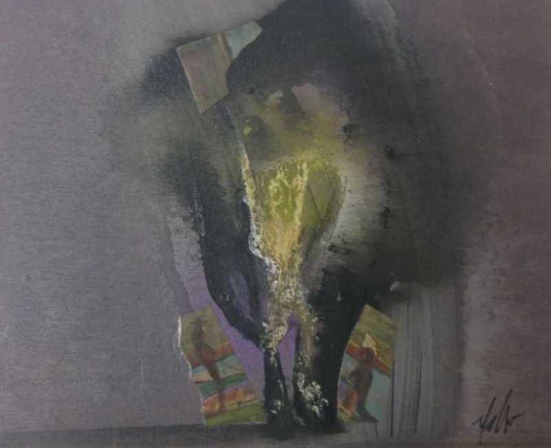 Sergio DANGELO - Painting - L'angelus