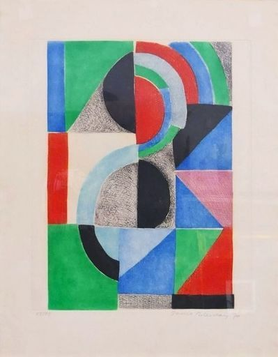Sonia DELAUNAY-TERK - Stampa-Multiplo - Untitled