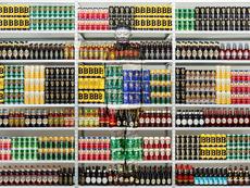 LIU Bolin - Photography - Hiding in London No. 5 - Beer Rack, 2014