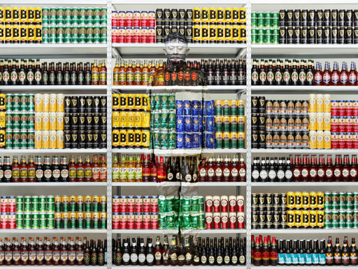 LIU Bolin - Photography - Hiding in London No. 5 - Beer Rack, 2014