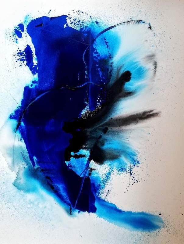 Mégui SANCHEZ - Painting - BL74