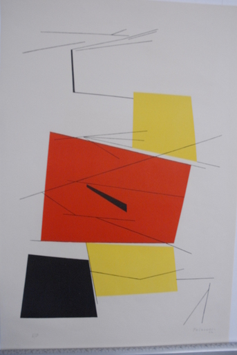 "Pablo PALAZUELO - Print-Multiple - ""Untitled 1952"""