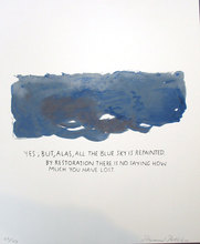 Raymond PETTIBON - Estampe-Multiple - Yes, but Alas