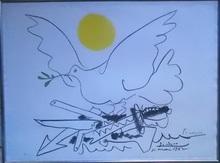 巴勃罗•毕加索 - 版画 - LA COLOMBE DE L AVENIR