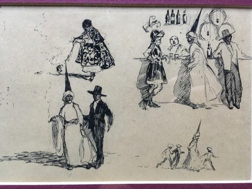Francisco HOHENLEITER Y CASTRO - Drawing-Watercolor