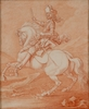 "Georg Philipp I RUGENDAS - Disegno Acquarello - ""Victor Amadeus II of Savoy"""