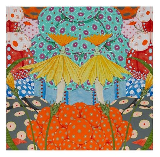 Mari ITO - Painting - Origen del deseo - Ritmo de alegría II