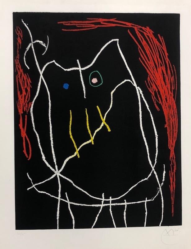 Joan MIRO - Print-Multiple - Buho II