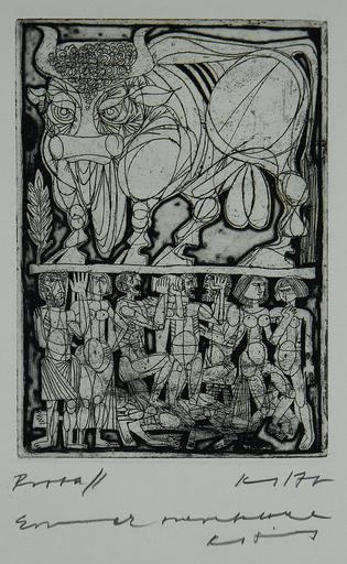 Janos KASS - Estampe-Multiple - Biblical Series