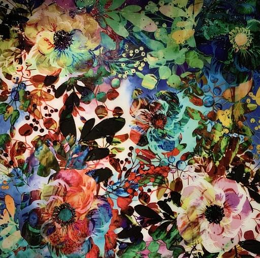 Priska MEDAM - Gemälde - FLORAL INSPIRATION