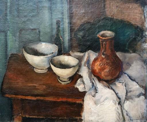Erich HARTMANN - Painting - Still Life