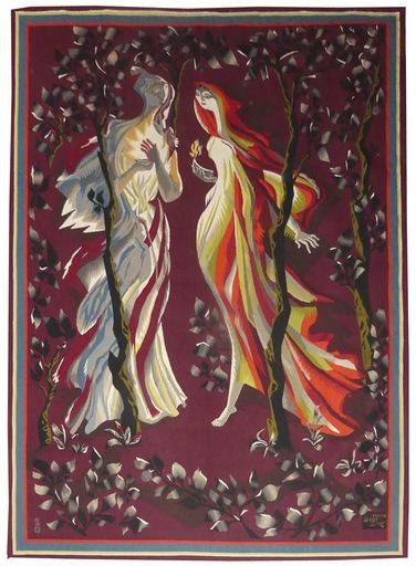 Marc SAINT-SAENS - Tapestry - les vierges folles