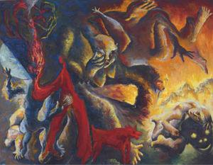 Chema COBO - Pintura - The Dream of the Artist