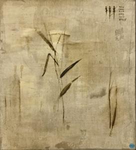 Piero PIZZI CANNELLA - Painting - I fiori secchi