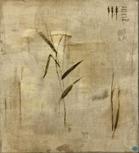 Piero PIZZI CANNELLA - Pittura - I fiori secchi
