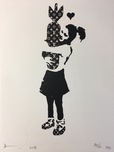 DEATH NYC - Estampe-Multiple - Death NYC - Bansky LV - 2018