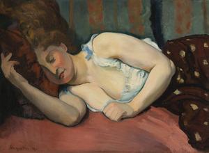 Louis ANQUETIN - Painting - Le repos du modèle