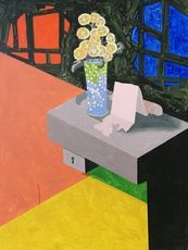 Jorge CASTILLO - Pintura - El florero