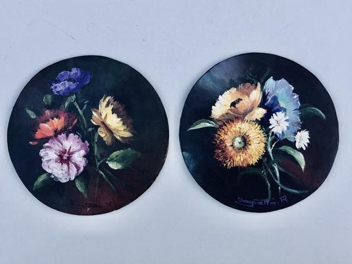 Raymond SAGLIETTO - Peinture - Fleurs