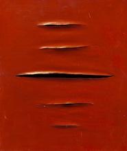 Lucio FONTANA - Painting - Untitled