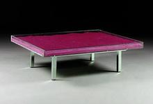 Yves KLEIN - Sculpture-Volume - Table Monopink TM