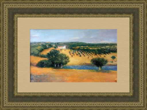 Levan URUSHADZE - Peinture - Olive grove