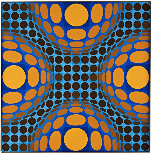 Victor VASARELY - Painting - LANGO