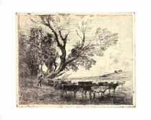 Charles François DAUBIGNY - Print-Multiple - Le Gué