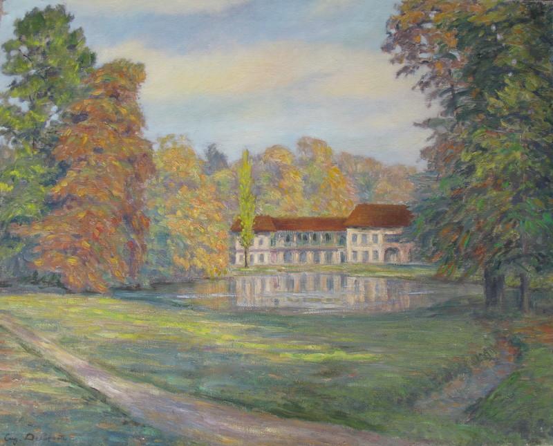 Eugène DELAPORTE - Painting - Le Homeau