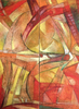 Raul ENMANUEL - Pintura - Dyptico en rojo