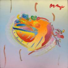 Peter MAX - Pintura - HEART
