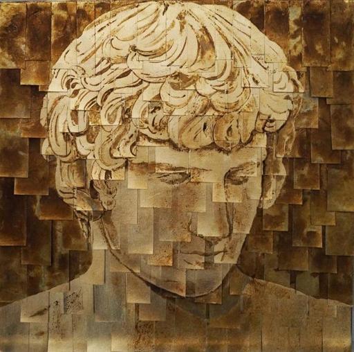 CAMPAGNOLO & BIONDO - Peinture - Antinoo