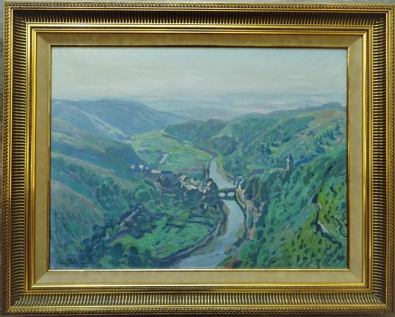Henri PAILLER - Painting - vallée de l'Our, Luxembourg