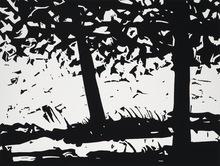 Alex KATZ (1927) - Maine Woods 1