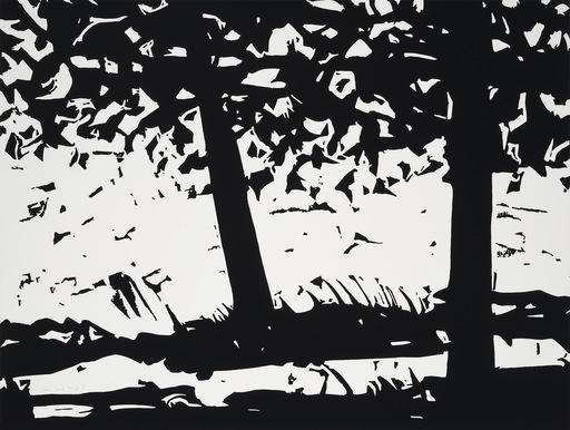 Alex KATZ - Grabado - Maine Woods I