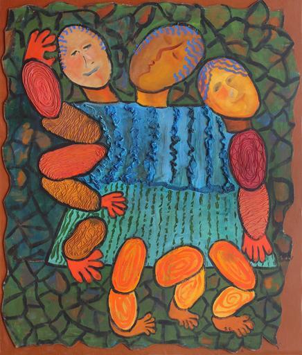 Jacotte SIBRE - Peinture - Eden