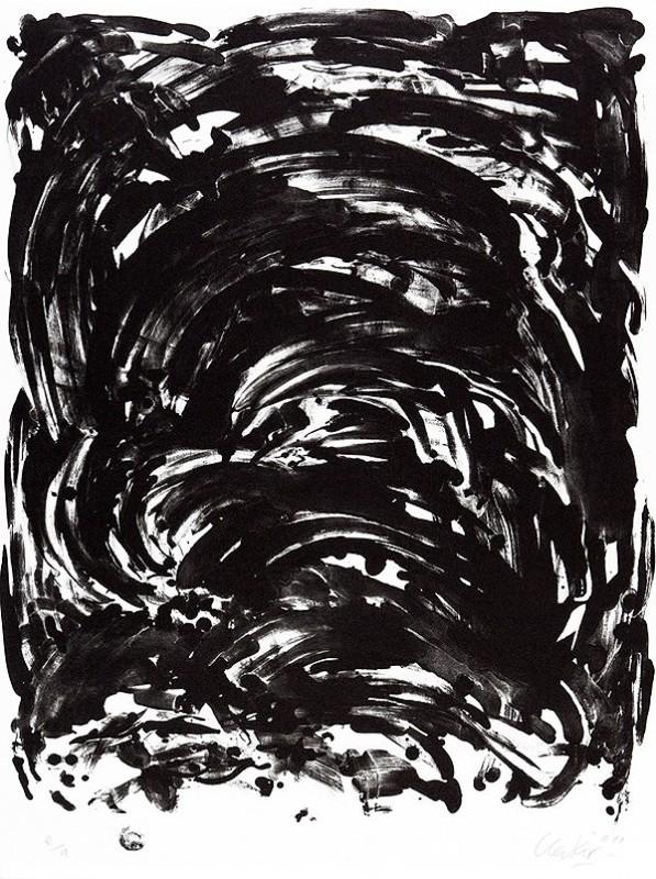 Günther UECKER - Print-Multiple - Handlung II