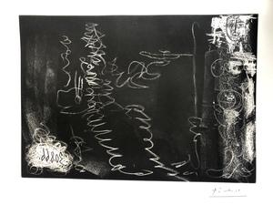 Pablo PICASSO - Print-Multiple - SANS TITRE