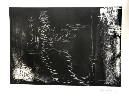 巴勃罗•毕加索 - 版画 - SANS TITRE