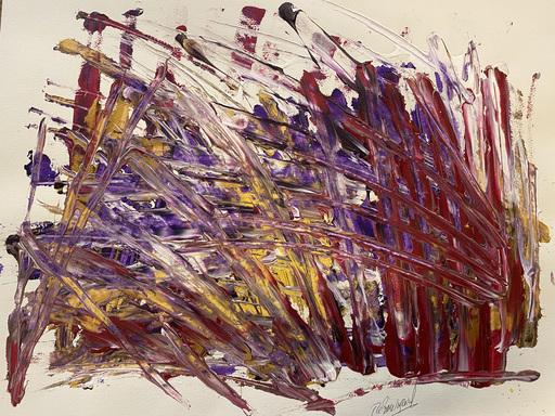 Jérémie REBOURGEARD - Gemälde - l'Entité des Eloges
