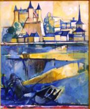 Jacques DESPIERRE - Pintura - Saumur II