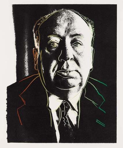 Andy WARHOL - Grabado - Alfred Hitchcock