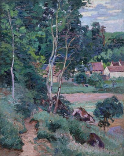 Armand GUILLAUMIN - Pittura - Boigneville