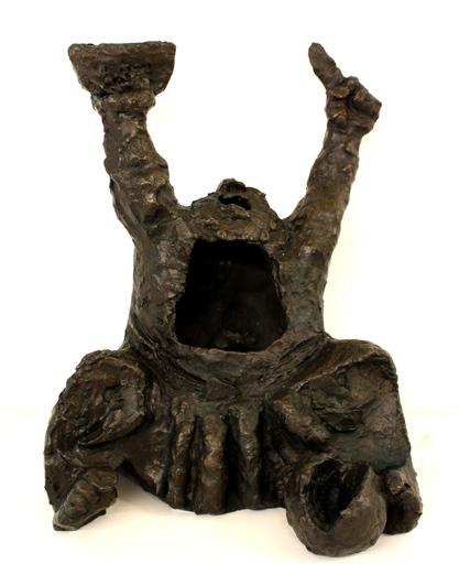 Nahum GUTMAN - Sculpture-Volume - The watermelons seller