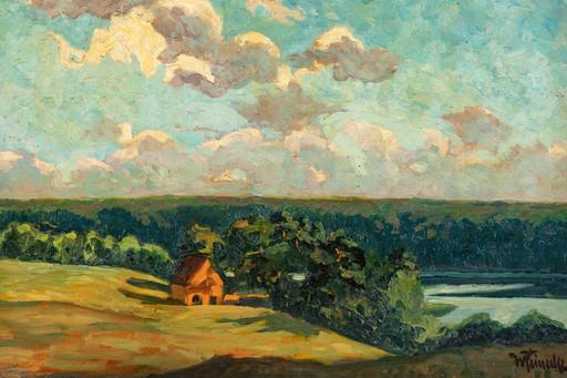Wilhelmus Hendrikus HEINECKE - Gemälde - The Orange house