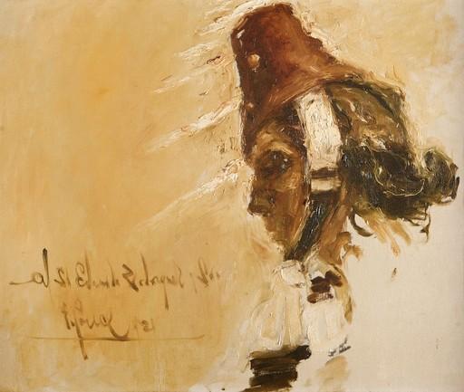 Fidelio PONCE DE LEON - Pintura - Soldado Ruso