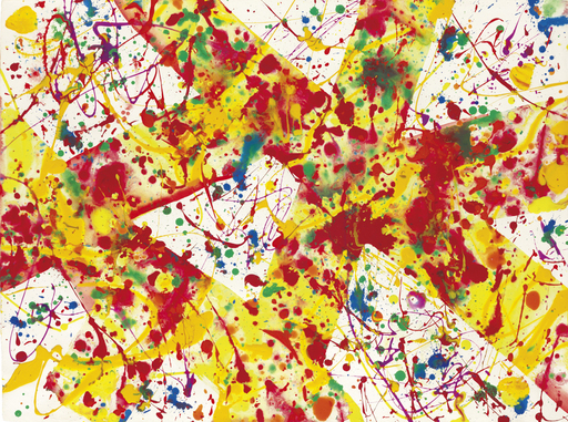 Sam FRANCIS - Pittura - Untitled SF92-55 (Acrylic)