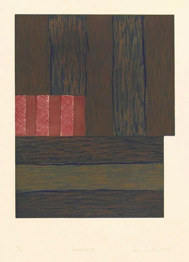Sean SCULLY - Stampa-Multiplo - Narcissus