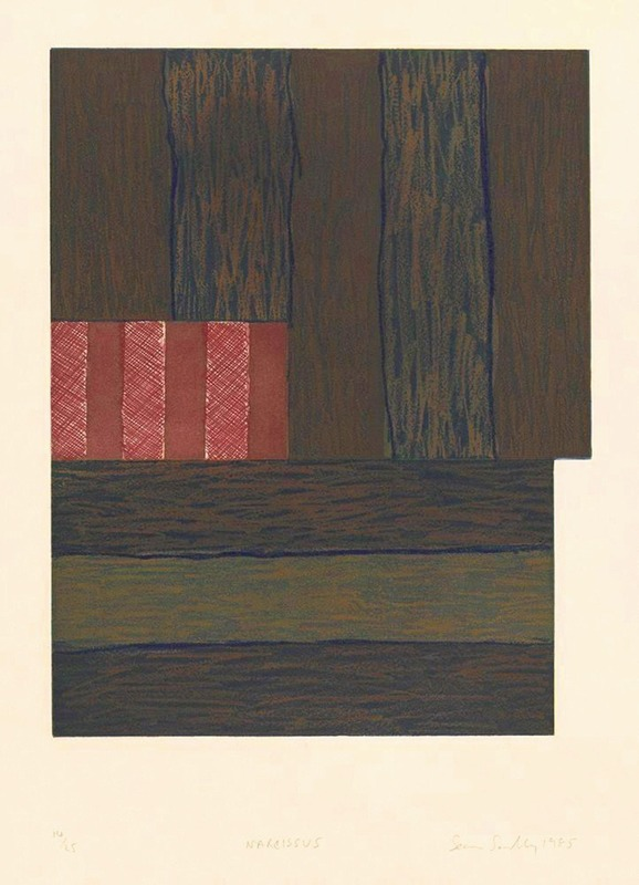 Sean SCULLY - Estampe-Multiple - Narcissus