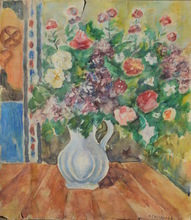 Nathalie GONTCHAROVA - Drawing-Watercolor - Floral still-life
